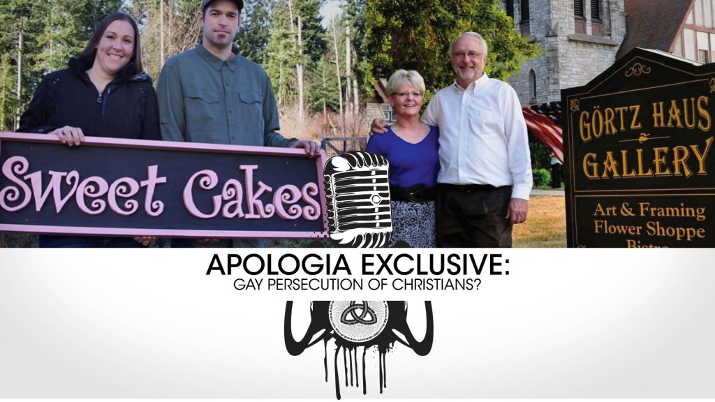 APOLOGIA EXCLUSIVE: Gay Persecution of Christians?