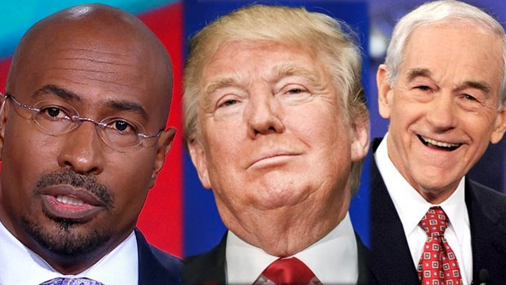 trump-van-jones-ron-paul