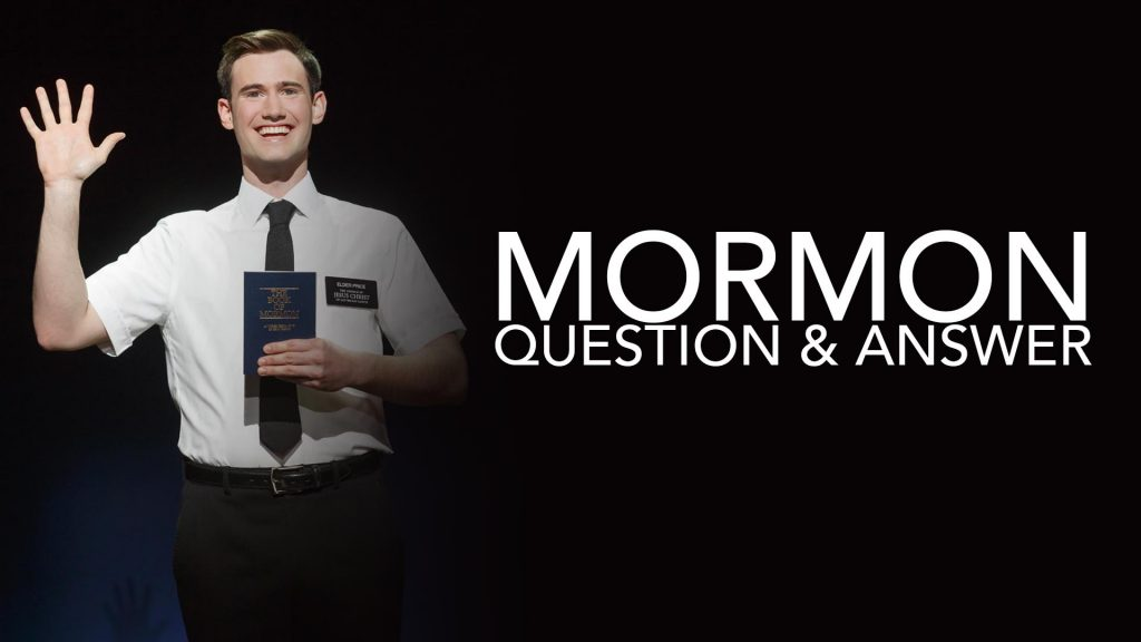 Bonus: Excellent Public Q and A on Mormonism